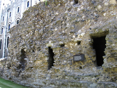 Part of the west side of the original bailey built between 1221 and 1238 during the reign of Henry III.