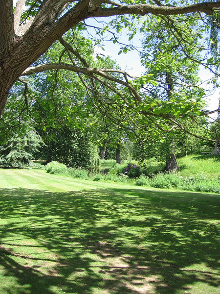 The gardens at Frogmore - outside Windsor Castle