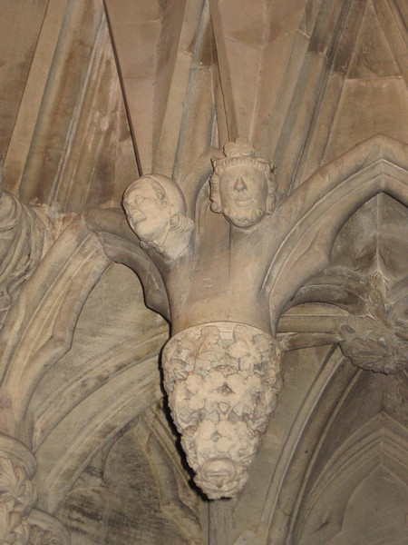 Carvings in the Chapter House, York Minster