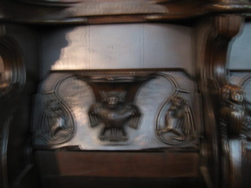 Miserichord - Holy Trinity Church Stratford