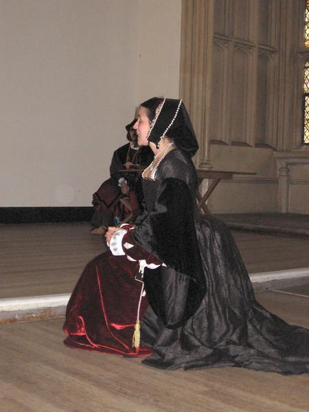 Acress portraying Anne Boleyn.