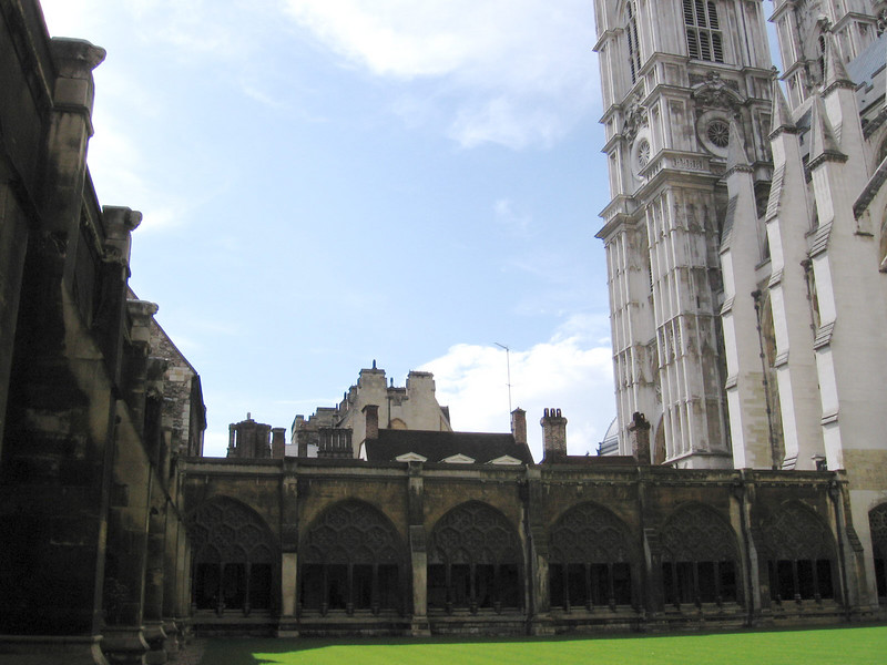 The Cloisters Westminster Abbey
