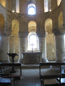 St. John's Chapel inside the White Tower