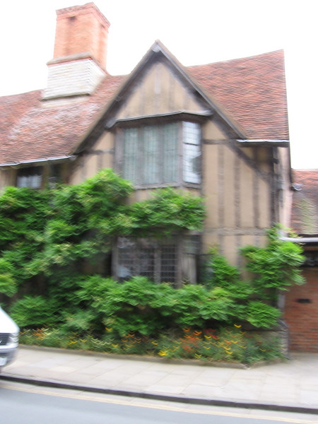 Hall's Croft, Stratford. The home of Shakespeare's daughter Suzanna and her pysician husband was the second largest private home in Stratfold in the sixteenth century