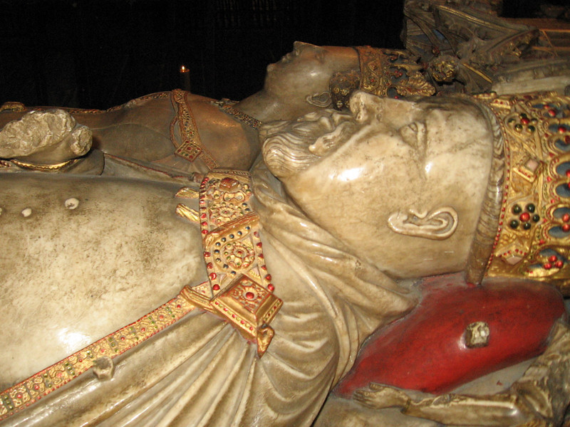 The tomb of Henry IV and Joan of Navarre, Canterbury Cathedral