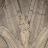 Carving of the Madonna and Child, Chapter House, York Minster