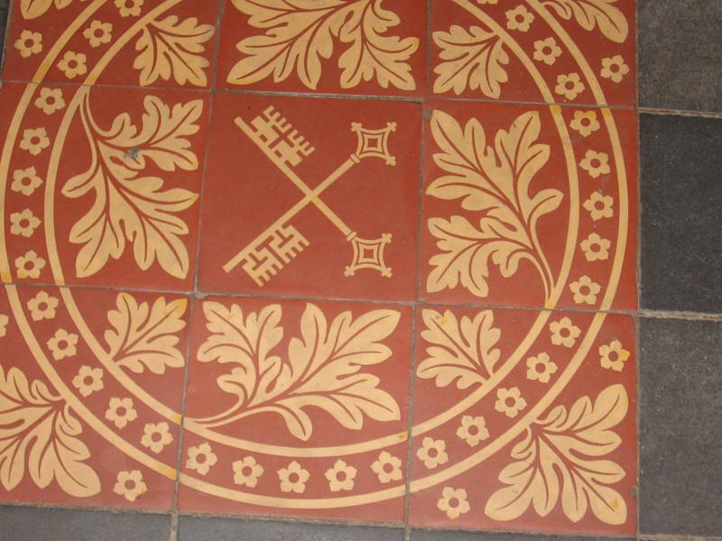 Chapter House floor, York Minster