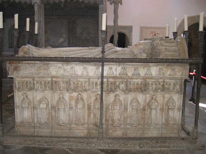 Tomb of the fifth Earl of Arundel, Fitzalan Chapel, Arundel