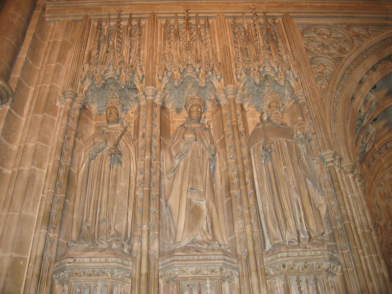 Statues of Kings, Canterbury Cathedral