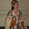 Actress portraying Catherine Parr, Hampton Court Palace