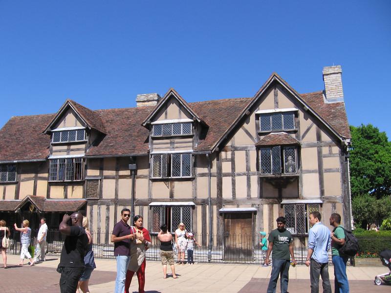 Shakeskpeare's Birthhplace, Stratford-upon-Avon