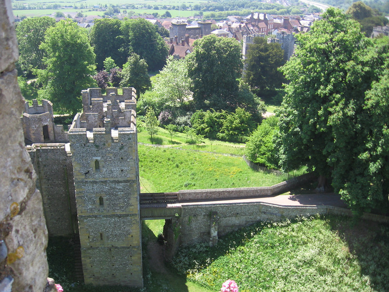 View for Arundle Castle