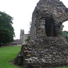 Southwest corner of the Abbott's Great Hall, Glastonbury Abbey (fourteenth centory)