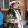 Actor depicting Henry VIII, Hampton Court Palace