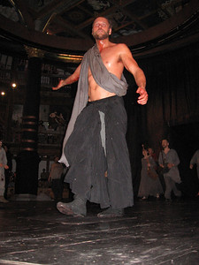 The title character of Macbeth, The Globe Theater, London