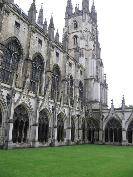 Canterbury Cathedral (from the Cloister)