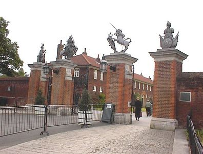 Entrance to Hampton Court