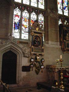 Shakespeare Monument, Holy Trinity Church, Stratford