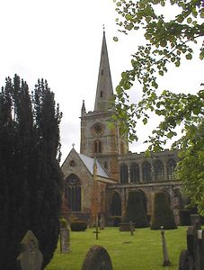 Holy Trinity Church, Stratford-uopn-Avon