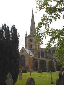 Holy Trinity Church, Stratford-uopn-Avon