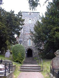 """St. Martin's Church, Canterbury-""""The Cradle of English Christianity"""""""