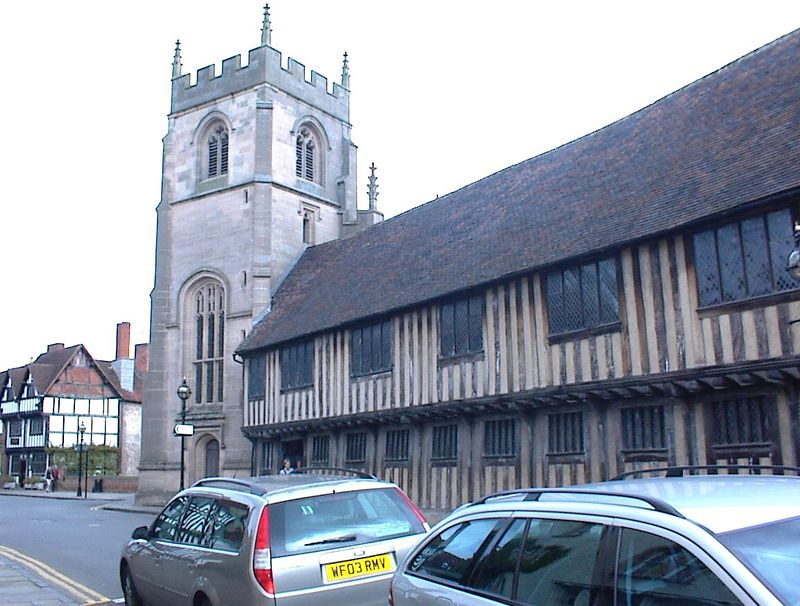 The Guildhall Chapel and the Grammar School, Stratford