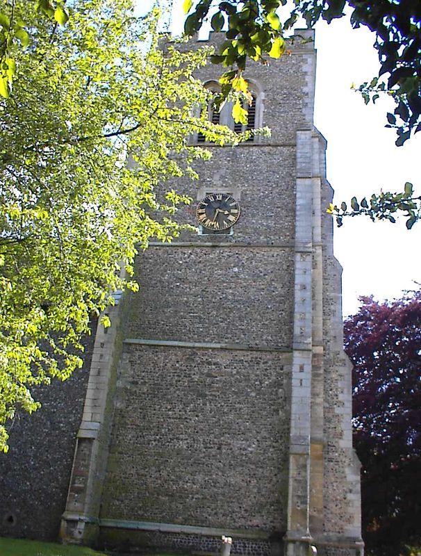 Fifteenth Century Tower, St. Etheldreda Church, Hatfield