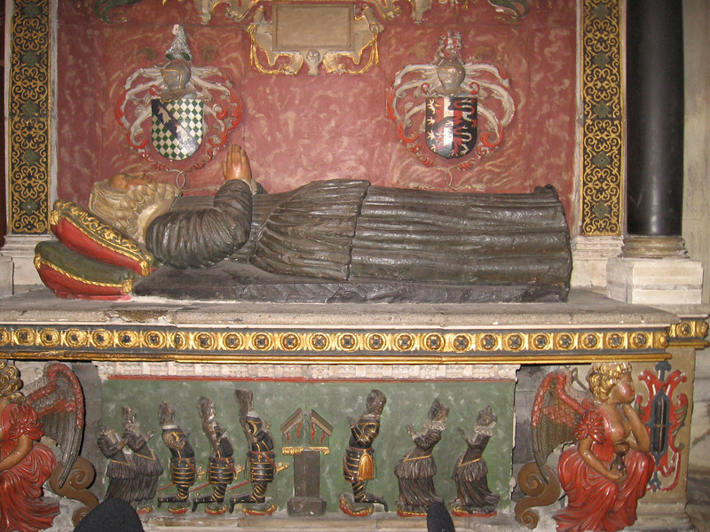 Tomb of Sir John Young and his wife Margaret, Bristol Cathedral