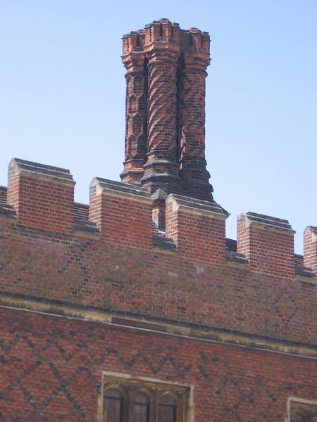Tudor chimney, Hampton Court Palace