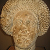 Head of lady(late first century) probably from tombstone, Roman Baths, Bath