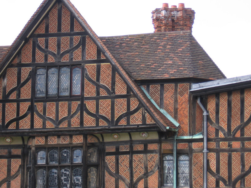 Fifteenth century building, Horseshoe Crescent, Lower Ward, Windsor Castle