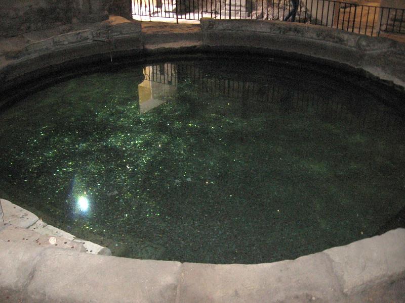 Pool in Roman Baths, Bath