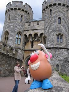 Mr. Potato Head at Windsor Castle