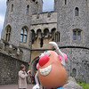 Mr. Potato Head at Windsor Castle