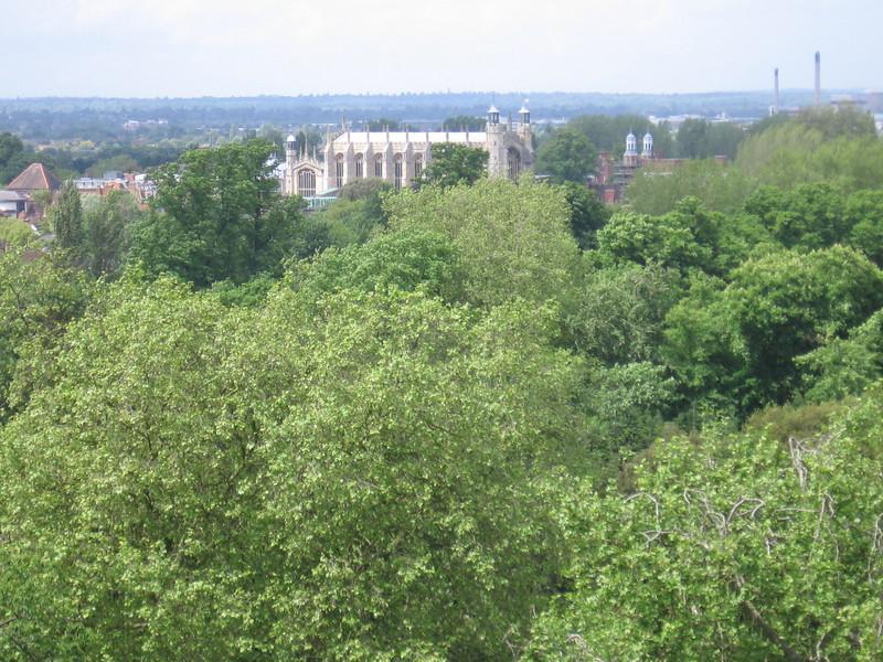 Eton seen from Windsor Castle