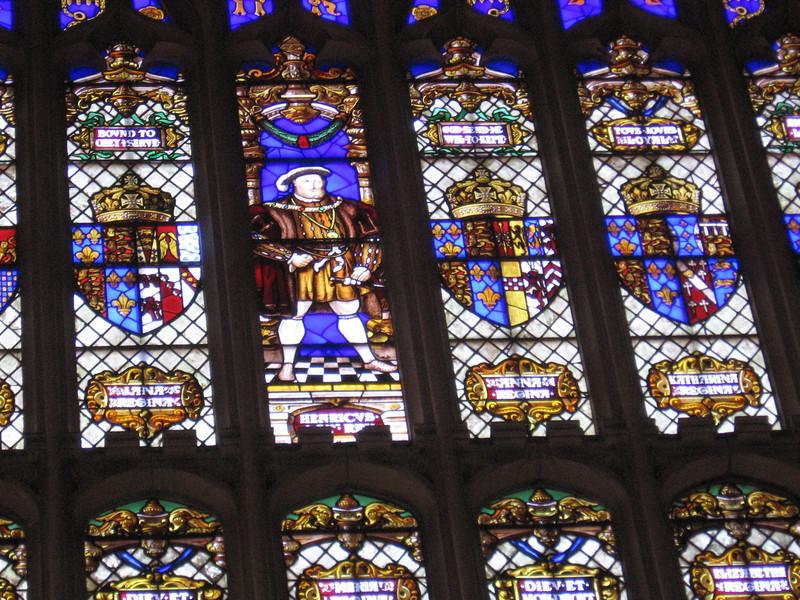 Henry VIII window, Hampton Court Palace