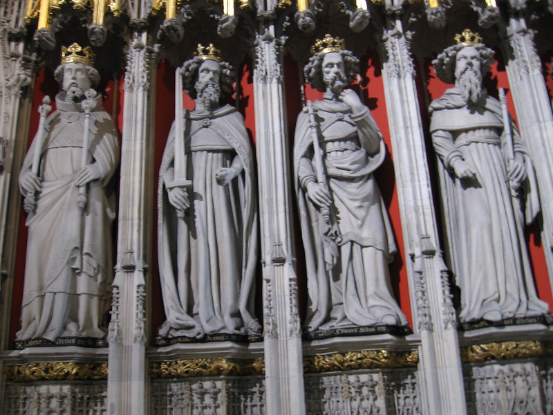 Statues of Kings, York Minster