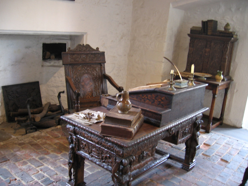Replica of the room where Sir Walter Rahleigh was imprisoned, Tower of London