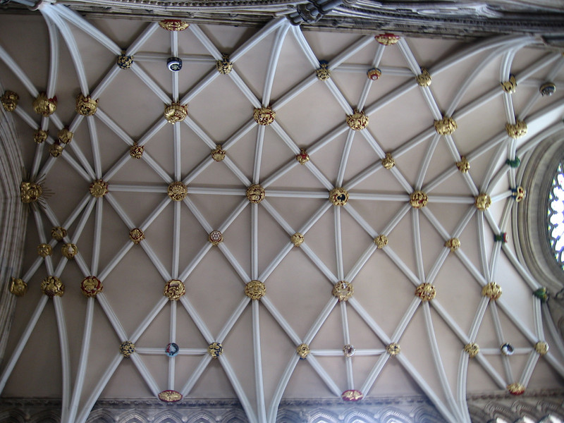 Ceiling, York Minster