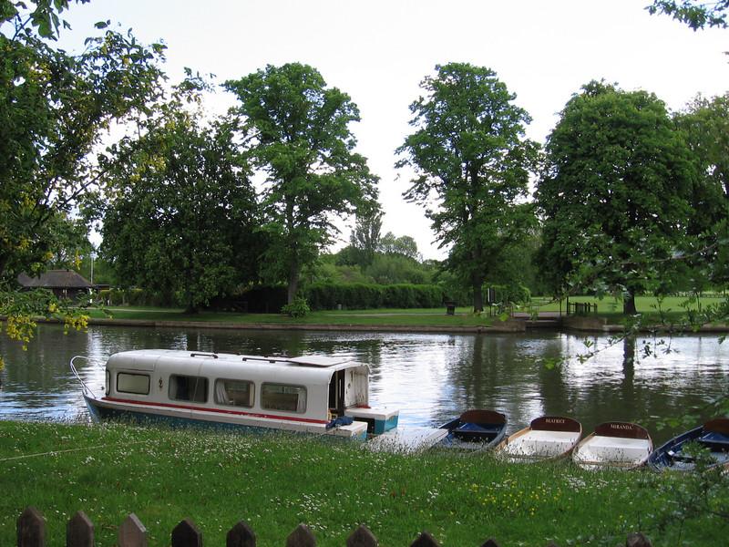 Boats on the Avon, Stratford