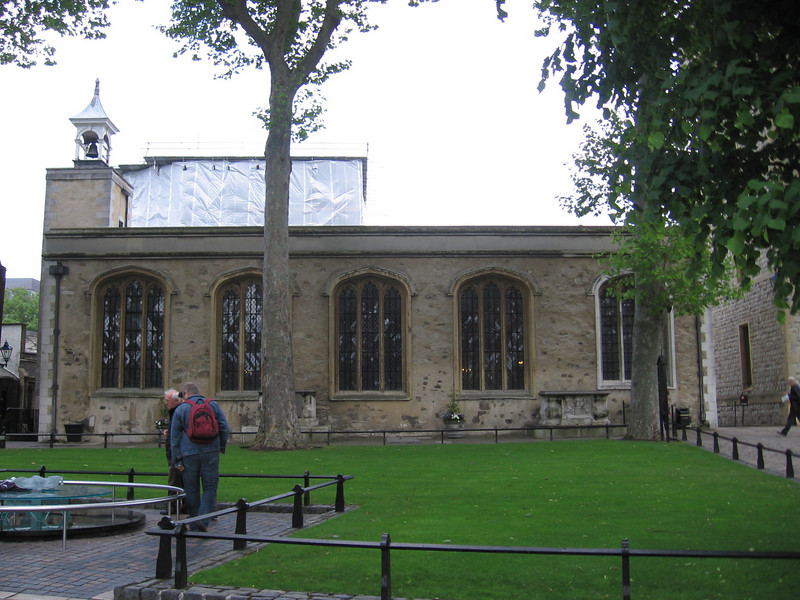 Chapel of St. Peter ad Vincula, Tower of London