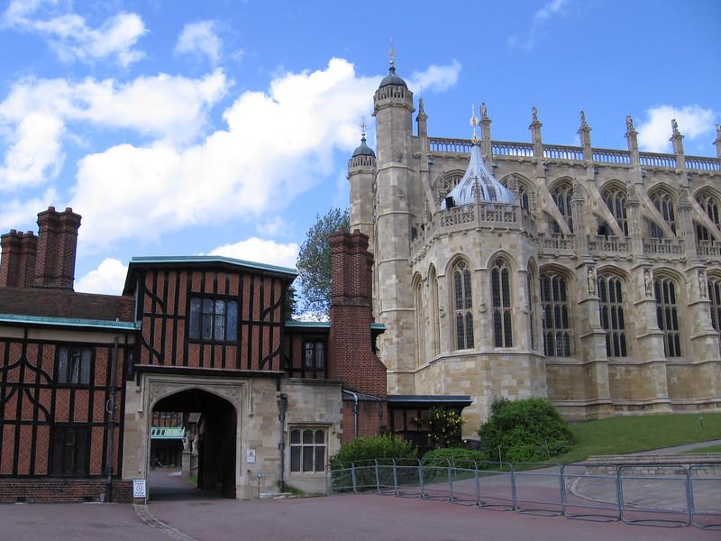 Horseshoe Cresent and St. George's Chapel, Windsor Castle