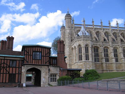 Horseshoe Cresent and St. George's Chapel, Windsor Castle