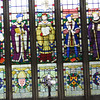 Stained glass window, Guildhall Chapel, Stratford-on-Avon