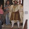 Actor portraying Henry VIII, Hampton Court Palace