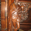 Detail of buffet, Warwick Castle