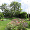 The gardens at Nash House, Stratford-on-Avon