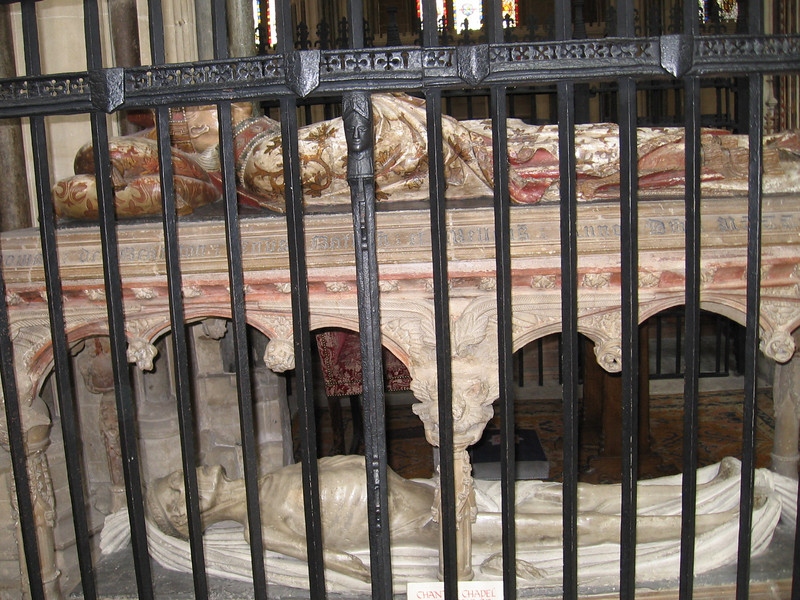Tomb of  Thomas Bekynton, Bishop of Bath and Wells 1443-1464, Wells Cathedral