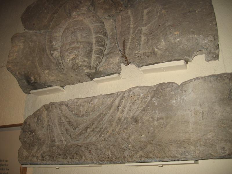 Roman pediment, Roman Baths, Bath