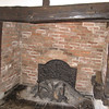 Fireplace in Shakespeare's Birthplace, Stratford-on-Avon